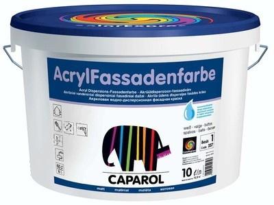 Caparol Fassadenfarbe / Капарол Фасаденфарбе краска фасадная матовая