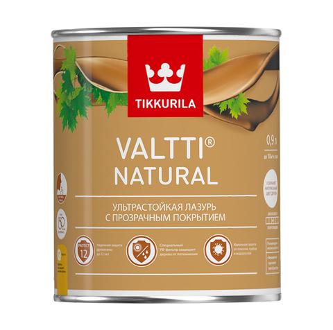 Tikkurila Valtti Natural / Тиккурила Валтти Натурал ультрастойкая лазурь с прозрачным покрытием