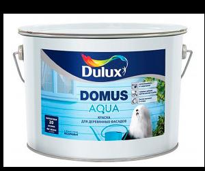 Dulux Domus Aqua / Дулюкс Домус Аква полуматовая водорастворимая краска для деревянных фасадов