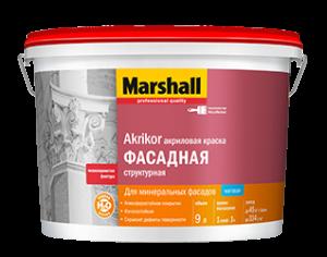Marshall Akrikor / Маршал Акрикор Структурная краска фасадная атмосферостойкая