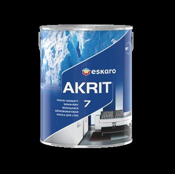 Akrit 7 / Акрит 7 моющаяся шелково-матовая краска