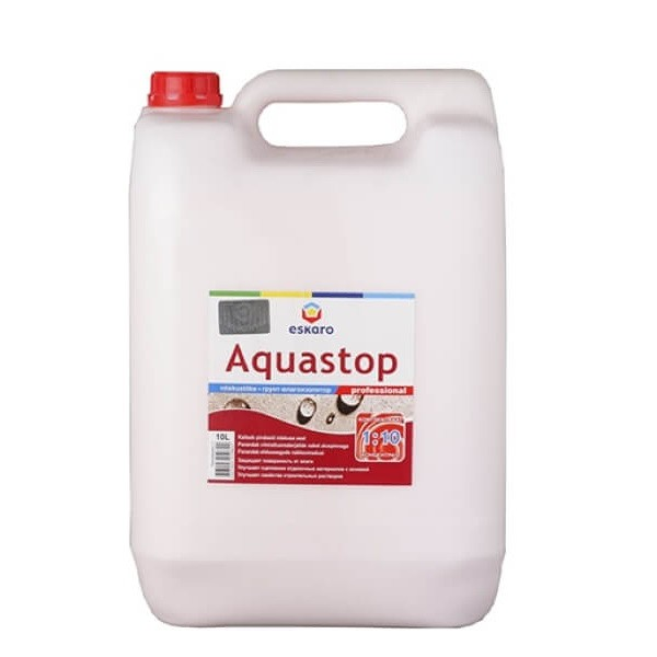 Aquastop Professional 1:10 / Аква Стоп Проф укрепляющий грунт-концентрат 1:10