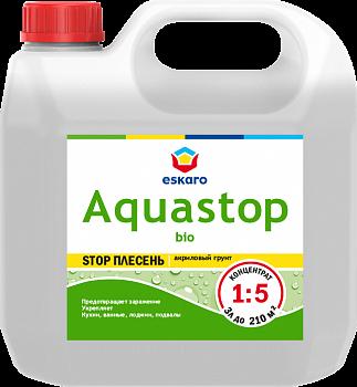 Aquastop Bio / Аквастоп Био грунт-влагоизолятор с добавлением биоцидов  Концентрат 1:5