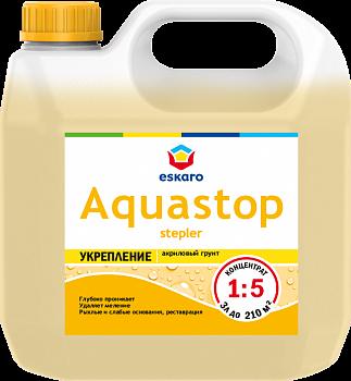 Aquastop Stepler / Аквастоп Степлер грунт-влагоизолятор укрепляющий  Концентрат 1:5