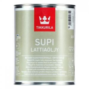 Tikkurila Supi Lattiaoljy / Супи Латиаолью масло для пола в бане и влажных помещениях