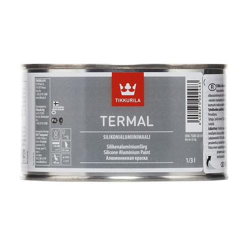 Tikkurila Termal / Тиккурила Термал силиконоалюминиевая краска термостойкая