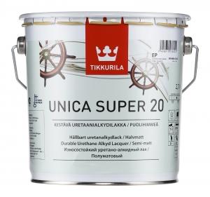 Tikkurila Unica Super / Тиккурила Уника Супер яхтный лак полуматовый