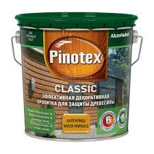 Pinotex Classic / Пинотекс Классик фасадная пропитка для дерева защита до 8 лет