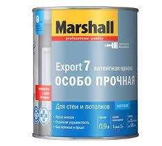 Marshall Export 7 / Маршал Экспорт 7 матовая краска моющаяся