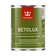 Tikkurila Betolux / Тиккурила Бетолюкс краска для пола внутри помещения