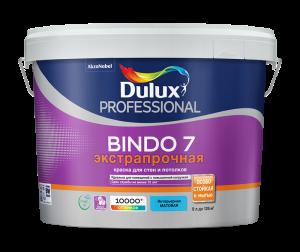 Dulux Prof Bindo 7 / Дулюкс Биндо 7 матовая краска для стен и потолков